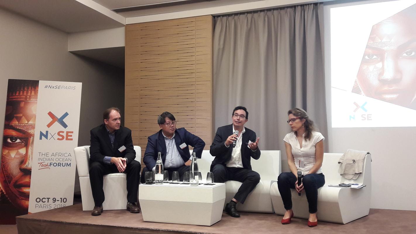 Conférences sur les greentech, animée par des entrepreneurs réunionnais.